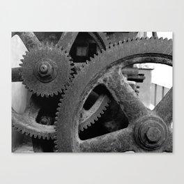 Big Gears Canvas Print