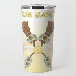 Team Badger Travel Mug