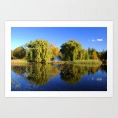 Reflection on the Lake Art Print