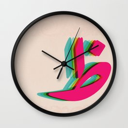 DH ❤ Wall Clock