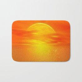 Sonne über dem Meer Bath Mat