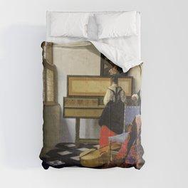 Johannes Vermeer  - The Music Lesson Comforters