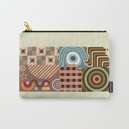 Kansas State Map Carry-All Pouch