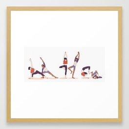 Yoga Klance Framed Art Print