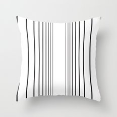 Void Line Throw Pillow