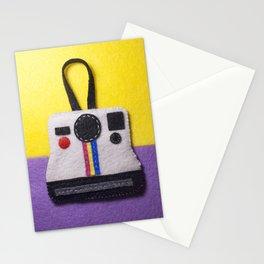Felt Polaroid Stationery Cards