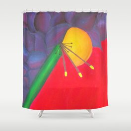 Heart Beat Shower Curtain