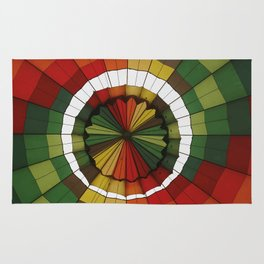 hot air balloon color Rug