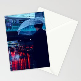 Tokyo Nights / Rain over Tokyo / Liam Wong Stationery Cards