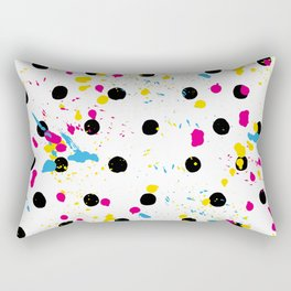 Fashion Patterns Paint the Fence Rectangular Pillow