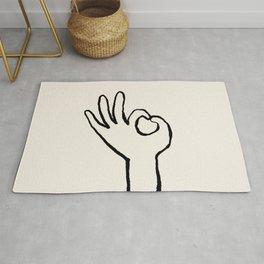 OK hand Rug
