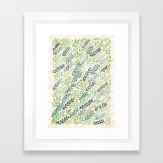 September Leaves Framed Art Print