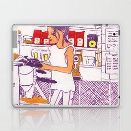 Barista Girl Laptop & iPad Skin