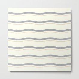 Earth's stripe Metal Print