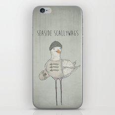 SEASIDE SCALLYWAGS iPhone & iPod Skin