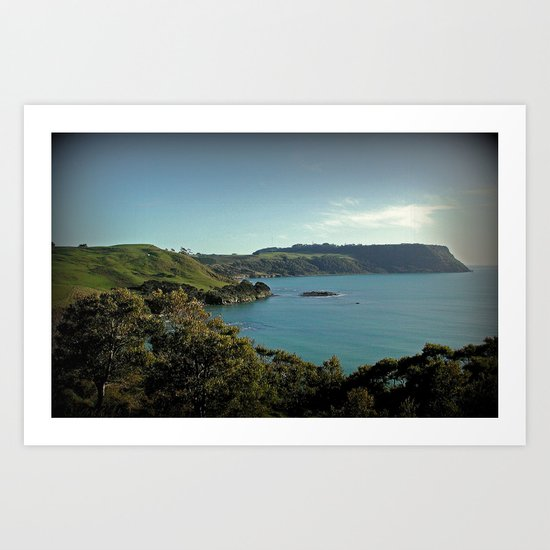 Fossils Bluff & Stanley Headland - Tasmania Art Print