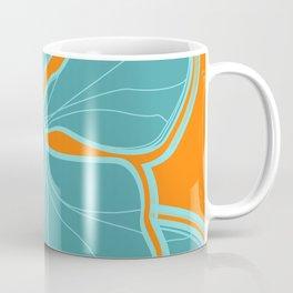 Kailua Hibiscus Hawaiian Engineered Floral Coffee Mug