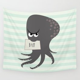 Squid of Contempt Wall Tapestry