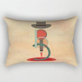 Bonnie and Clyde Rectangular Pillow