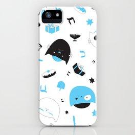 Hannukats White iPhone Case