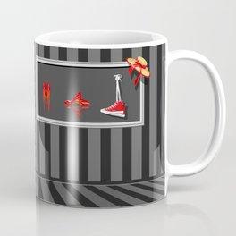 Beauty in nostalgic photo frame Coffee Mug