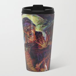 The Wolf Woman Metal Travel Mug