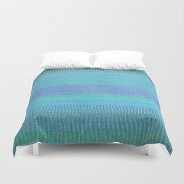 Woven Wonders Blue Duvet Cover