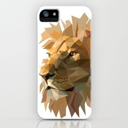 King of the jungle iPhone Case