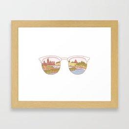 Canadian Sunnies | Ottawa Framed Art Print