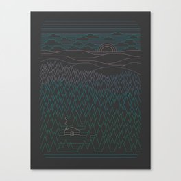 The Little Clearing Canvas Print