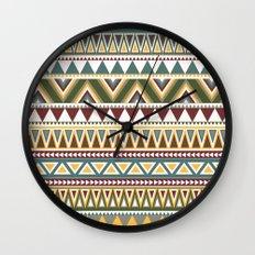 Aztec Wall Clock