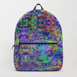 Blacklight Tye Dye Kaleidoscope Backpack