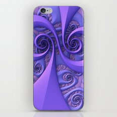 I Saw the Wind Today iPhone & iPod Skin