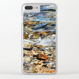 Peaceful Soothing Waters Clear iPhone Case