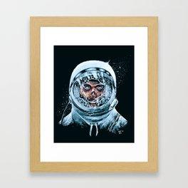 Zombie Spaceman Framed Art Print