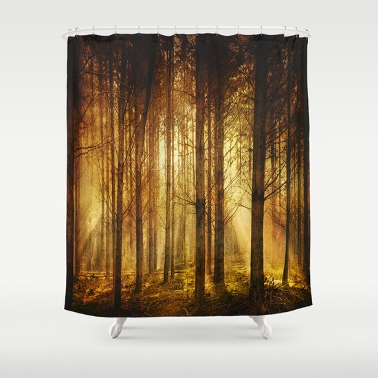 golden nature shower curtain by viviana gonzalez society6. Black Bedroom Furniture Sets. Home Design Ideas