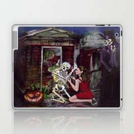 RARE LOVE, Halloween, Original art Laptop & iPad Skin