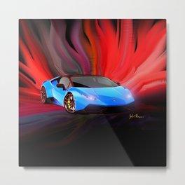 Lamborghini Huracán Metal Print