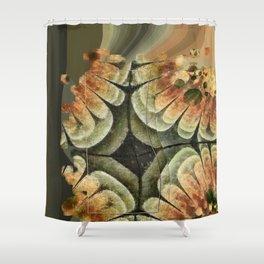 Annexation Constitution Flowers  ID:16165-142226-92271 Shower Curtain