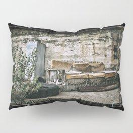 Vintage Trash Pillow Sham