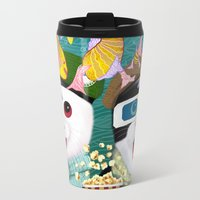 3d Travel Mugs featuring 3D by Tummeow