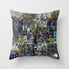 ...around four time effort, running no one or nor. Throw Pillow