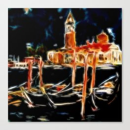 La Gondola Venezia Canvas Print