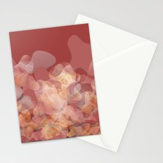 Lines and shapes Stationery Cards