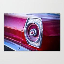 Tail Light. Canvas Print