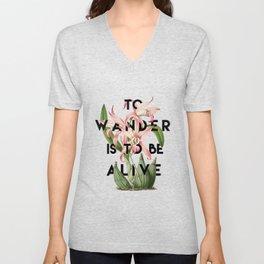 To Wander Unisex V-Neck