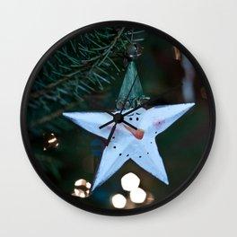 Star Ornament Wall Clock