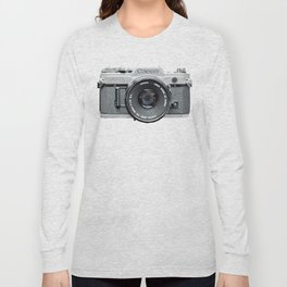 Vintage Camera Phone Long Sleeve T-shirt
