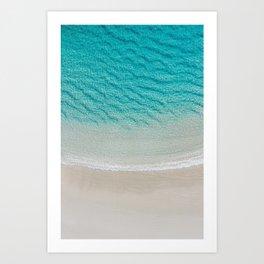 Calm Turquoise - Ocean Print Art Print