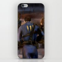 fallout iPhone & iPod Skins featuring Fallout Tribute by Hetty's Art